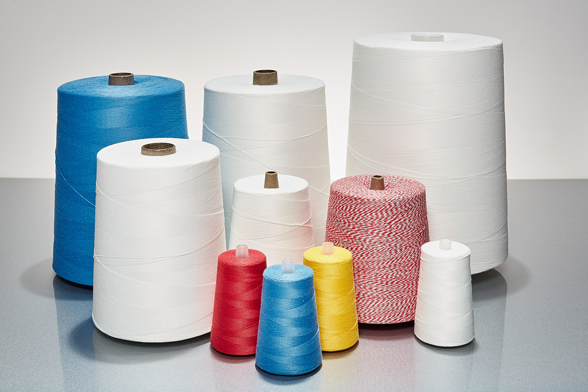Thread for the packaging industry.